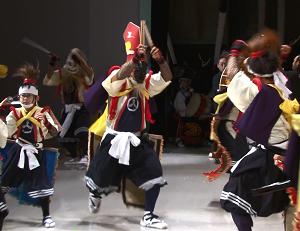 浦浜念仏剣舞 東京で熱演