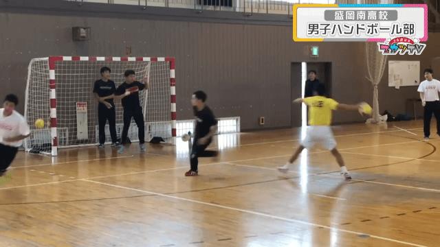#15盛岡南高男子ハンドボール部