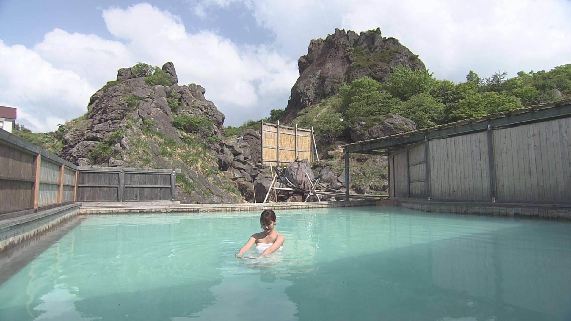 初夏の須川高原を行く