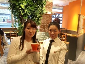 県内初出店のカフェ